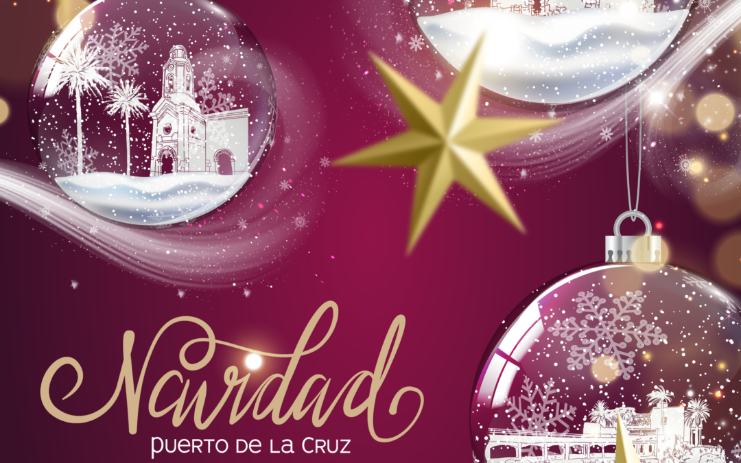 Puerto de la Cruz llama a compartir 'La ciudad de la alegría' en esta Navidad 2020 tan especial