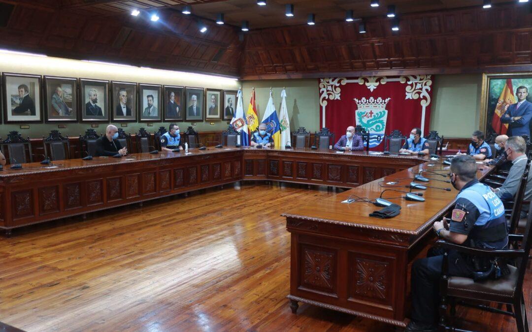 Puerto de la Cruz convoca su reunión de Mandos de la Policía Local