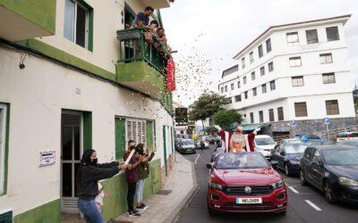 SS.MM Los Reyes Magos llenaron de ilusión todos los barrios de Puerto de la Cruz