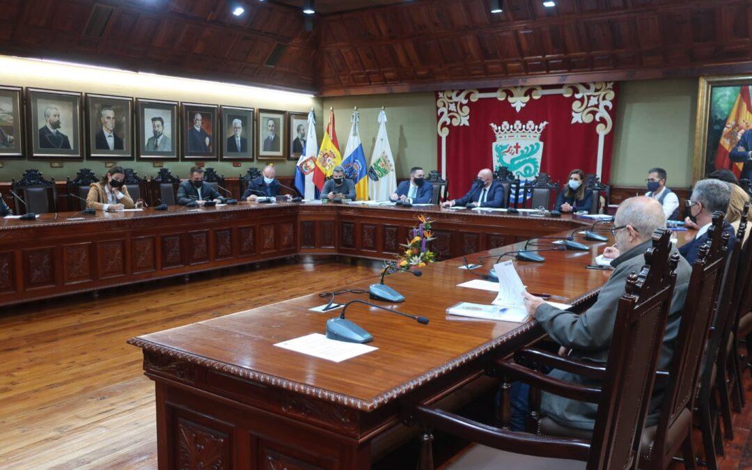 Puerto de la Cruz reúne a su Consejo Sectorial de Comercio para avanzar en el Plan de Rescate del comercio local