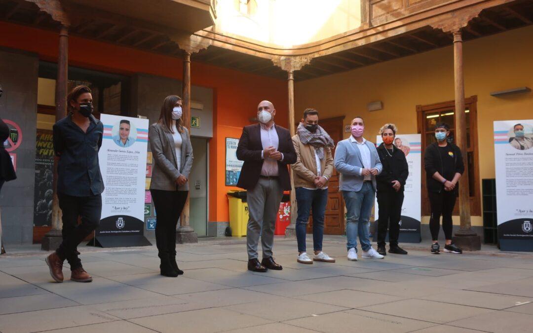 Puerto de la Cruz inaugura la exposición itinerante 'Ayer y hoy. Memoria Trans de Canarias'