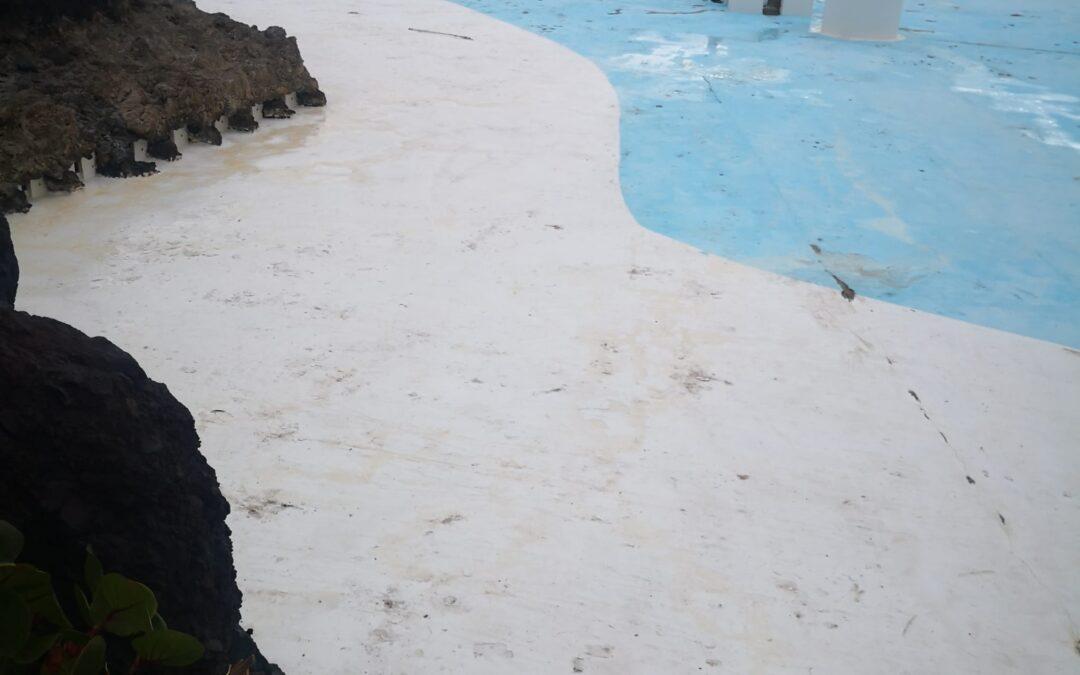 Puerto de la Cruz trabaja en la mejora de las instalaciones del Lago Martiánez