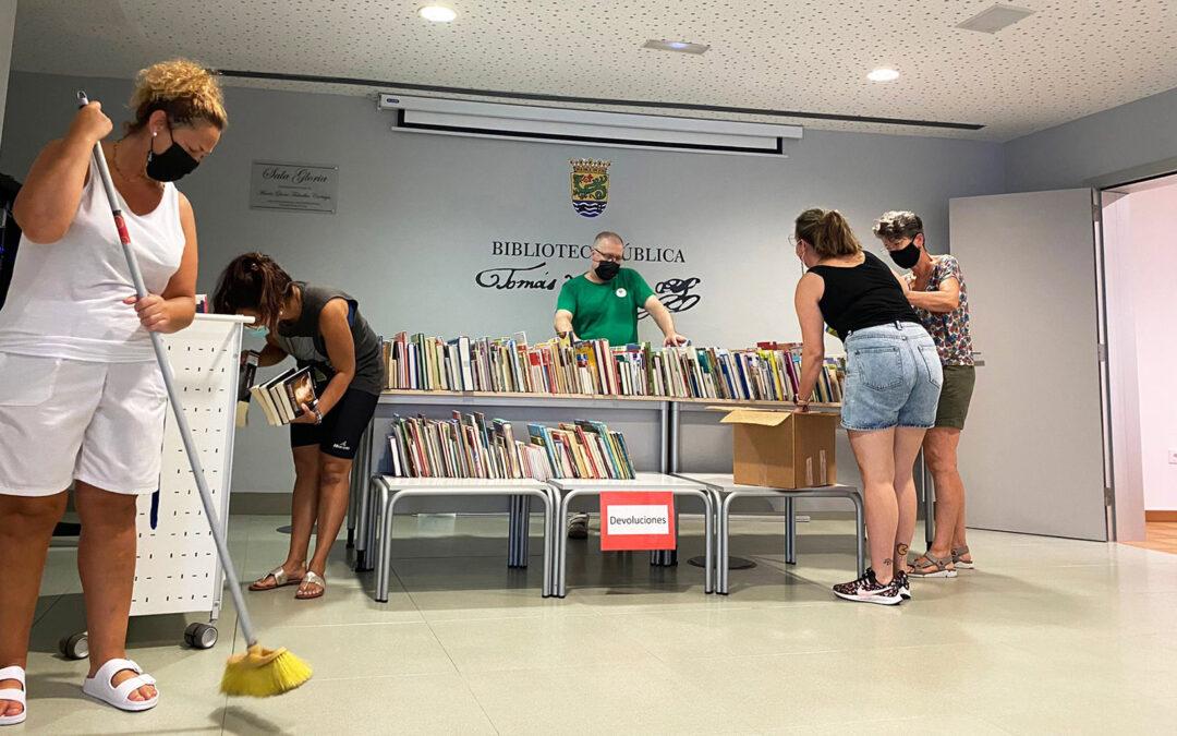La Biblioteca Pública Tomás de Iriarte permanecerá cerrada hasta el 2 de agosto por labores de expurgo y mantenimiento