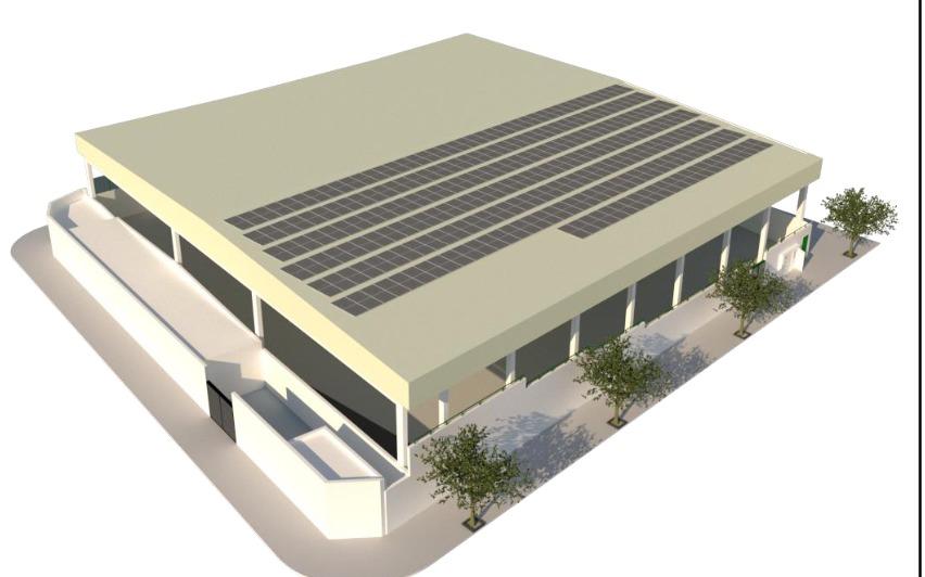 Dos nuevas instalaciones fotovoltaicas reducirán el consumo y las emisiones de CO2 de cuatro edificios municipales, generando un ahorro de 20.000 euros anuales