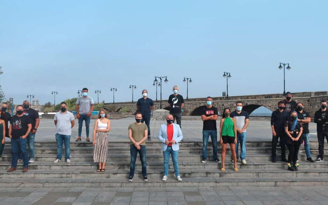 Resuena Puerto se adentra en la segunda fase con la grabación en estudio de los temas musicales
