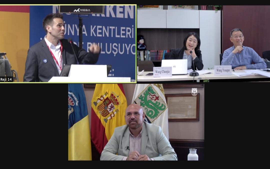 Puerto de la Cruz, único municipio canario participante en la cumbre de Cultura internacional, que debate los desafíos del sector en el futuro