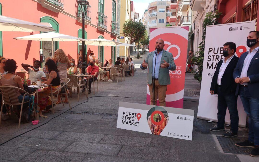 'Puerto Street Market' te espera este sábado con más mil euros en cheques regalo