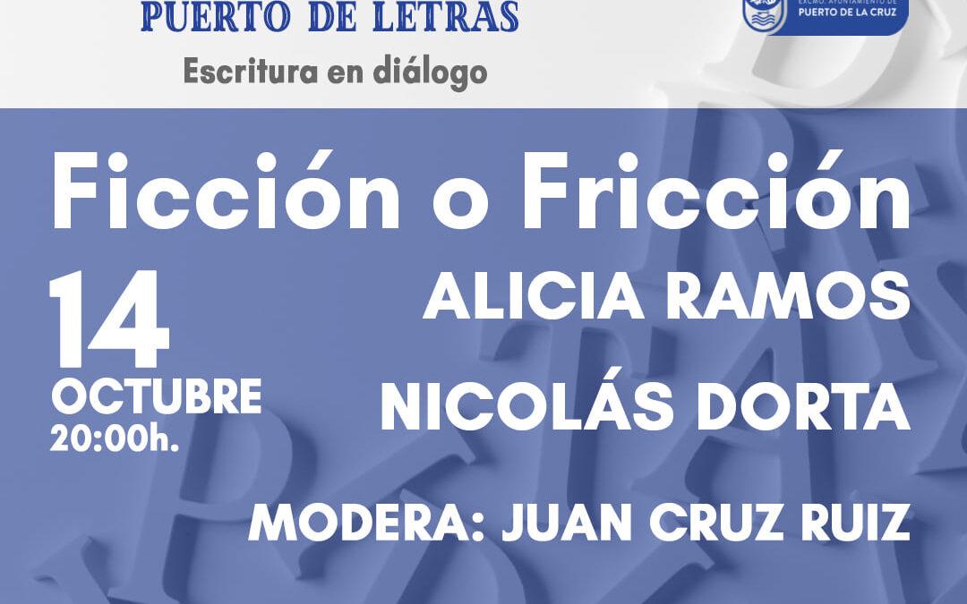'Ficción o fricción', Juan Cruz pregunta a la nueva narrativa canaria en Puerto de Letras