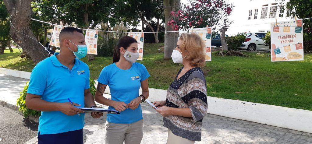 El Tendedero Vecinal recorre los barrios de Puerto de la Cruz