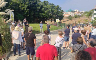 Ciudad Sostenible se reúne con el vecindario para la recuperación del espacio verde Quintana