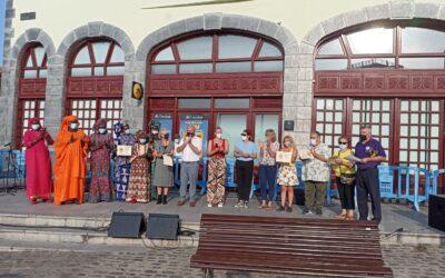 Puerto de la Cruz celebraba ayer el Día Vecinal bajo el lema Tejiendo ciudadanía