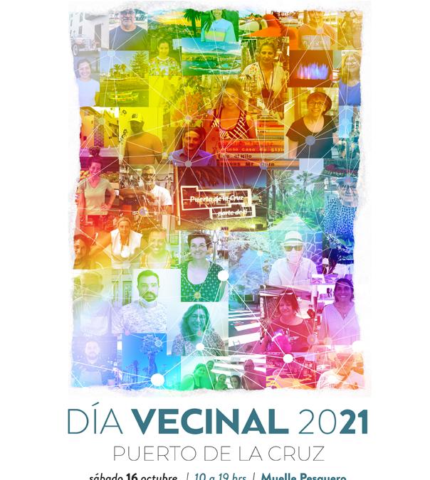 """El Día Vecinal regresa un año más bajo el lema """"Tejiendo Ciudadanía"""" el próximo 16 de octubre"""