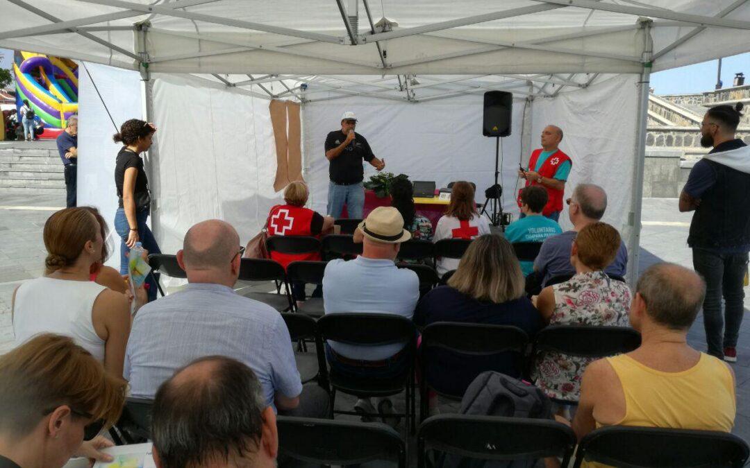 Puerto de la Cruz 'teje' ciudadanía en la celebración del Día Vecinal 2019