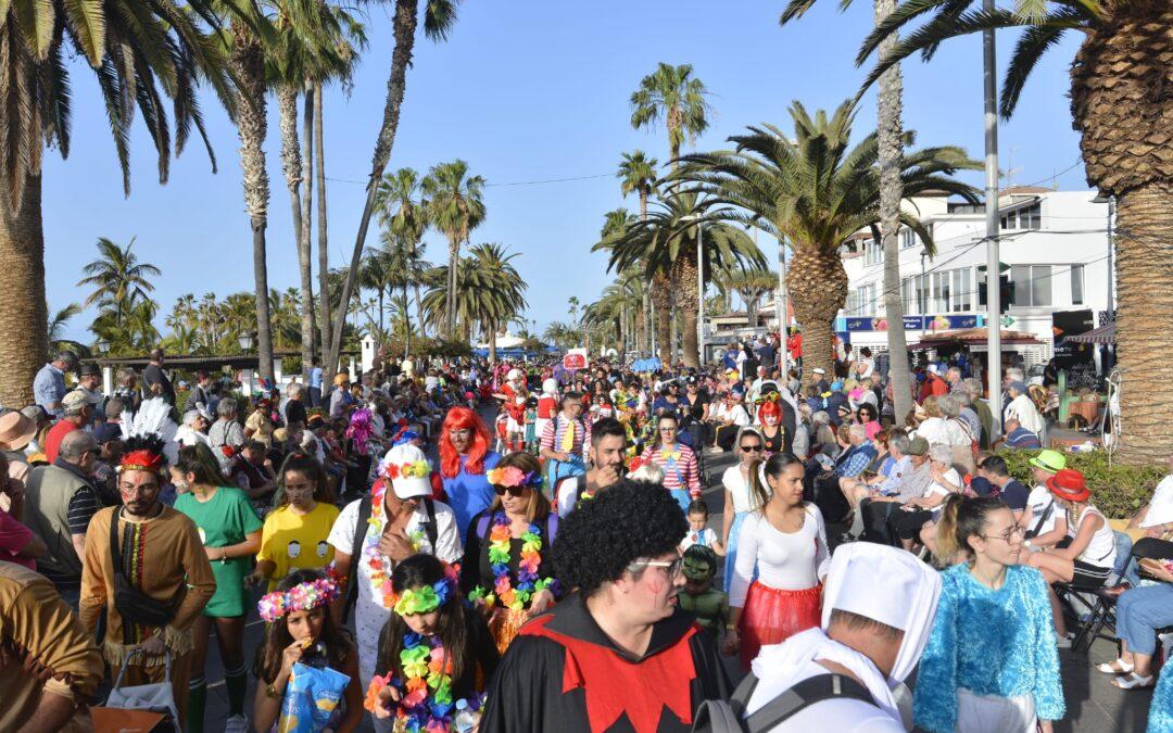 Más de 30 grupos en el coso apoteosis del Carnaval Internacional de Puerto de la Cruz