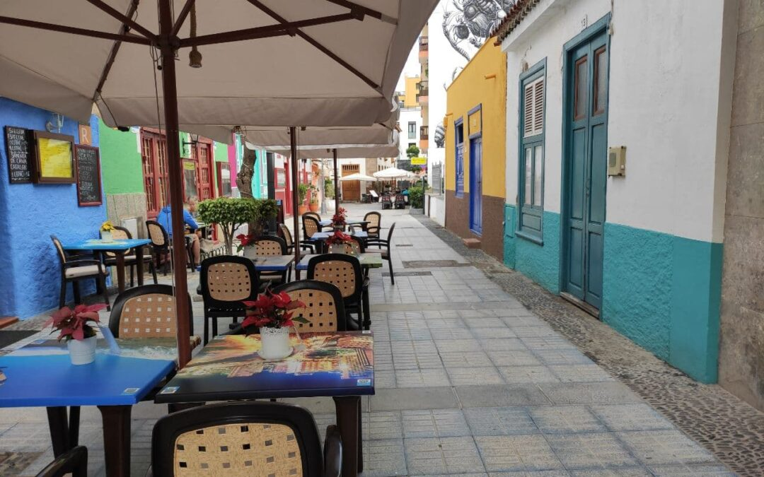Puerto de la Cruz autoriza excepcionalmente nuevas terrazas por el cierre del interior de los locales
