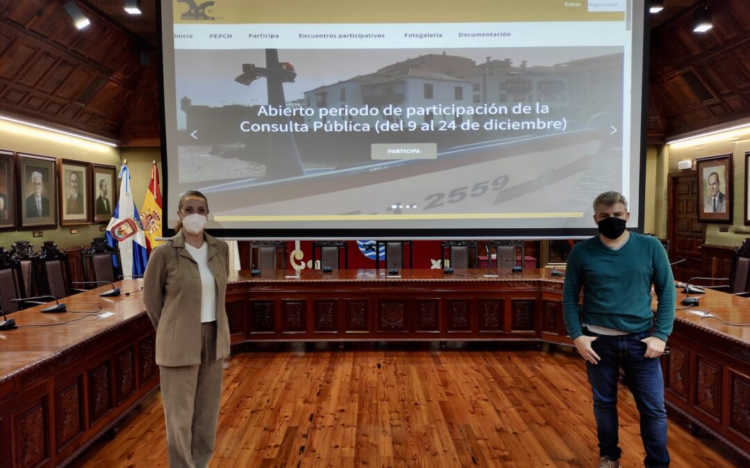 Puerto de la Cruz da inicio al proceso participativo del PEPCH con la puesta en marcha del nuevo portal web