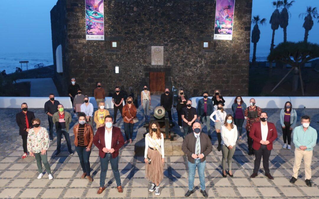 Puerto de la Cruz expone todo el talento del carnaval en una muestra en el Castillo San Felipe