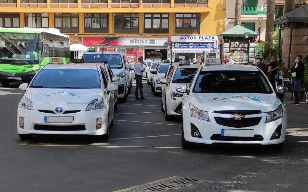 El ayuntamiento del Puerto de la Cruz aplica la modificación temporal del turno de descansos de los taxis.