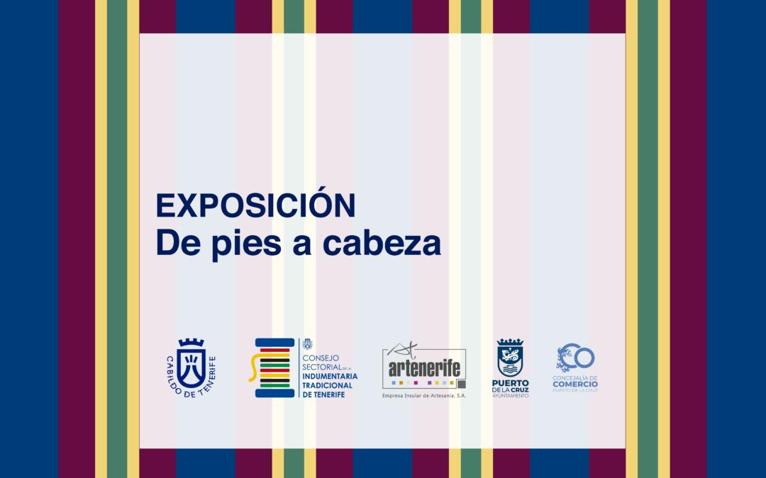 El Cabildo expone en el Puerto de la Cruz en el mes de mayo piezas de calzado y tocados tradicionales