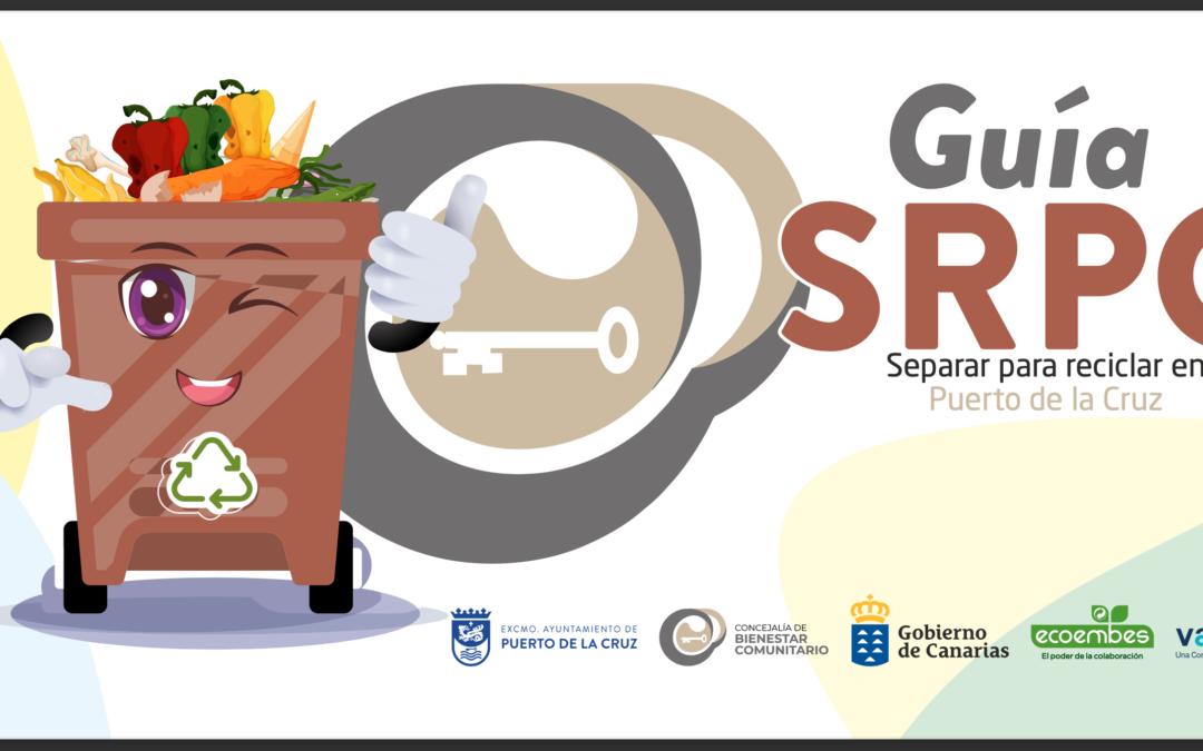 'Separar para reciclar', acción del Puerto de la Cruz para celebrar el Día Mundial del Medio Ambiente