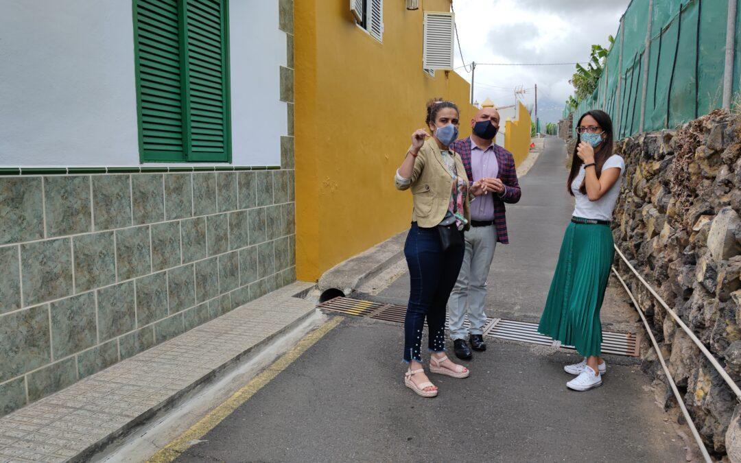 El Ayuntamiento impulsa la implantación del alumbrado público en la calle Babita