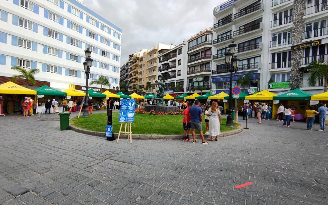 Más de 9 mil personas disfrutaron de la VIII edición de la Feria Insular de Artesanía