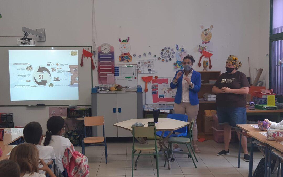 La 3º edición de El Puerto Recicla llega a las aulas de los centros educativos de Puerto de la Cruz