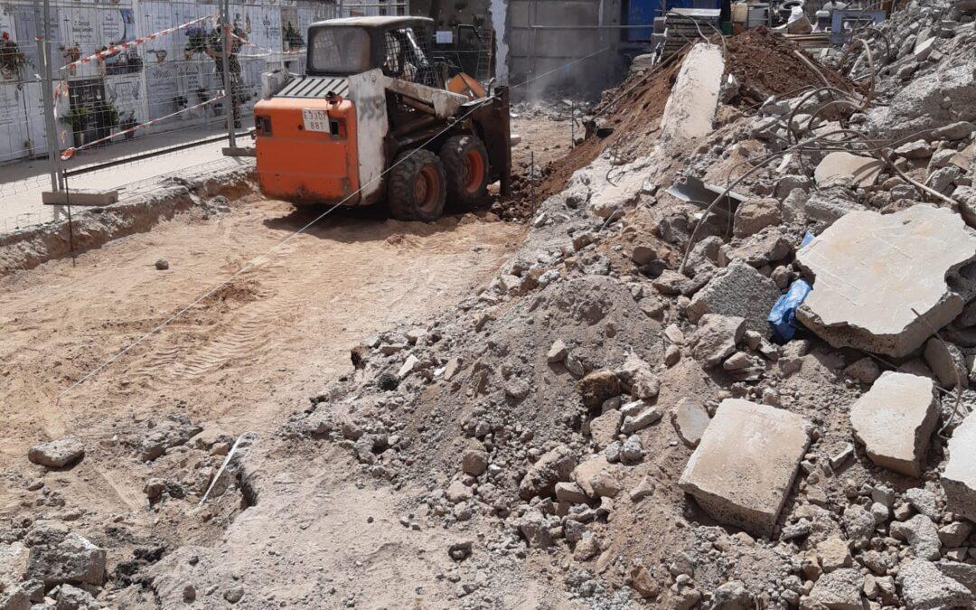 Puerto de la Cruz acomete la reconstrucción y ampliación de nichos en el cementerio San Carlos