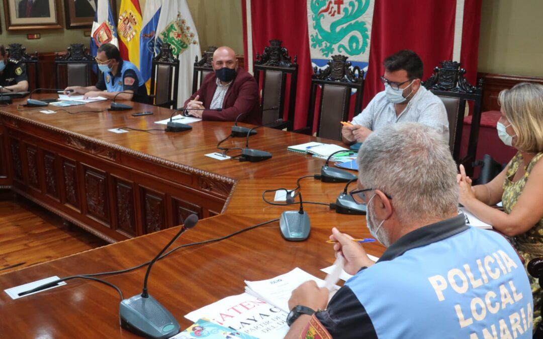 Puerto de la Cruz reúne a la mesa de Seguridad para afrontar las Grandes Fiestas de Julio