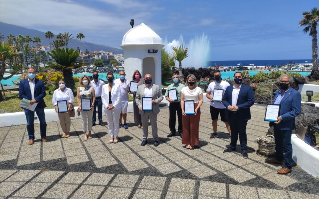 Los espacios públicos de interés turístico de Puerto de la Cruz reciben el sello Safe Tourism del Instituto de Calidad Turística de España