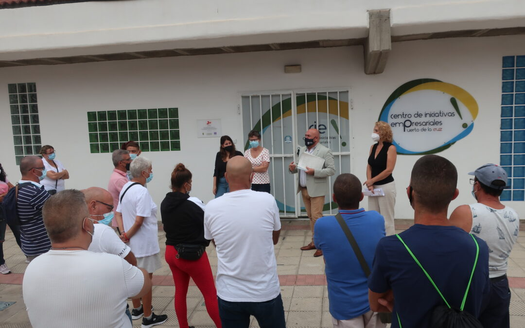 Inicia un nuevo Programa Especial de Empleo en Puerto de la Cruz